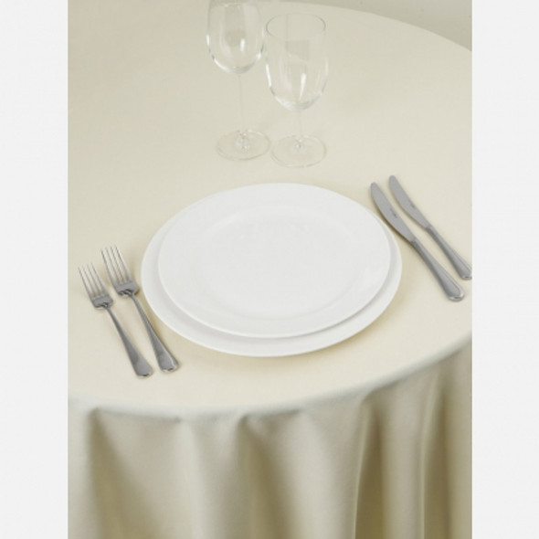 Linen Tablecloth Ivory 72in x 144in