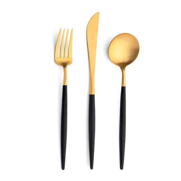 Goa Black & Gold Dinner Knife