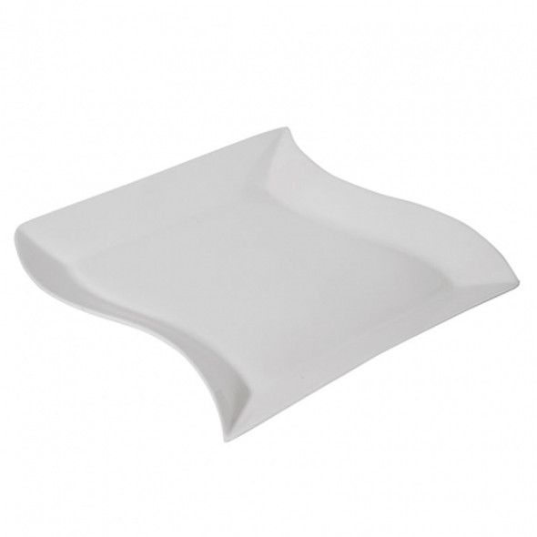 "Curved Mini Dish White 5"" x 3"""