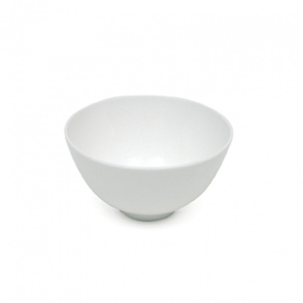 """Rice Bowl White with Stem 5"""""""