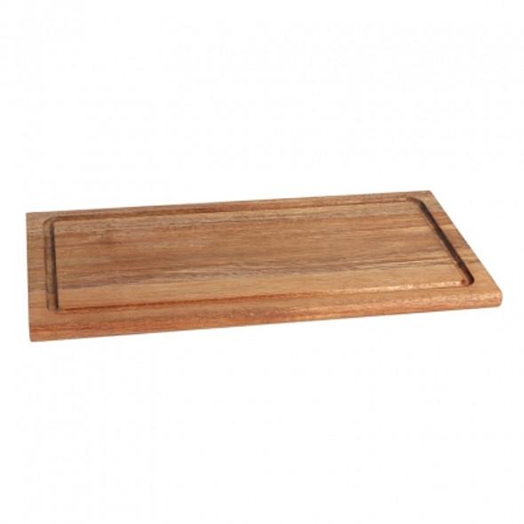 """Platter Wooden Rectangular 11"""" x 8"""""""