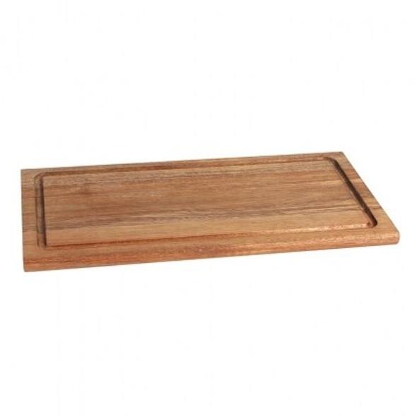 Platter Wooden Rectangular 13in x 9in