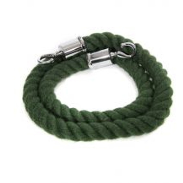 Green Rope Barrier 1.5m