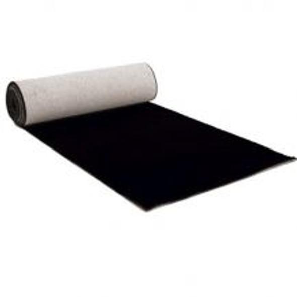 Charcoal Black Carpet Hire 10m