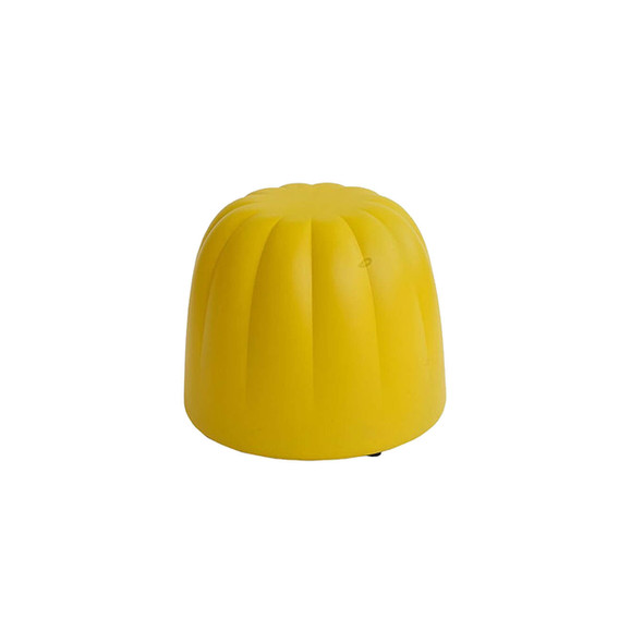 Candy Ottoman Yellow - Small