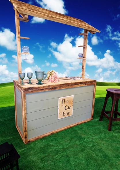 Pop Up Gin Bar 4.6ft
