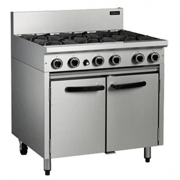 Industrial 6 Ring Cooker (Gas)