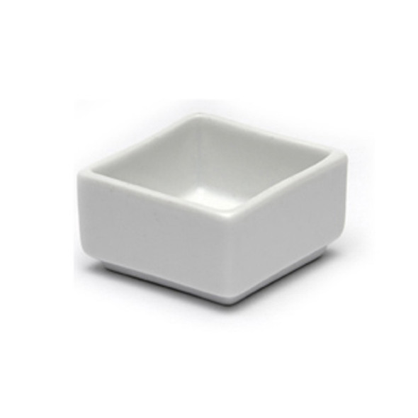 White Cube Dip Pot 2in x 1in