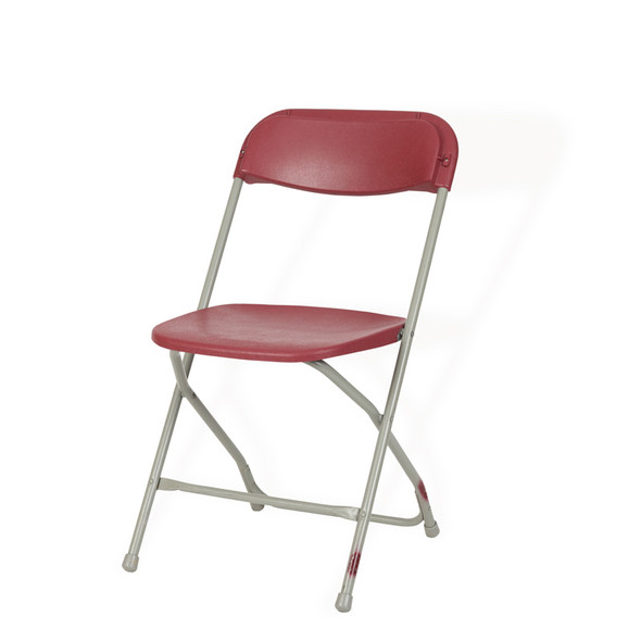 Folding Chair Burgundy