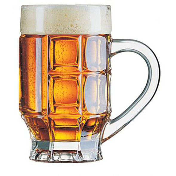 Tankard Glass with Handle