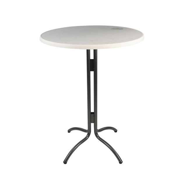 High Bar Table with Round Top