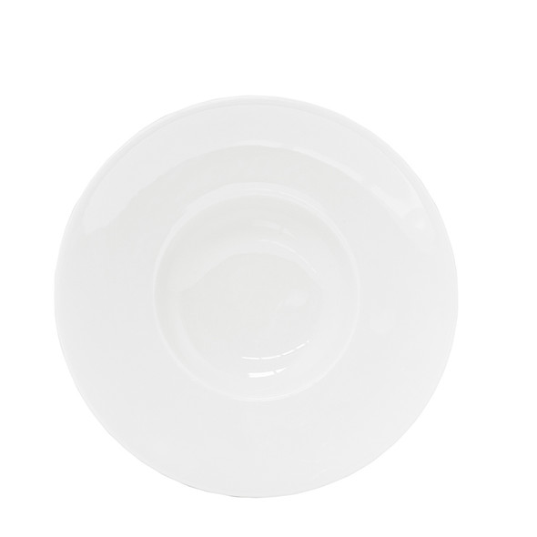 White Sampling Bowl 10in