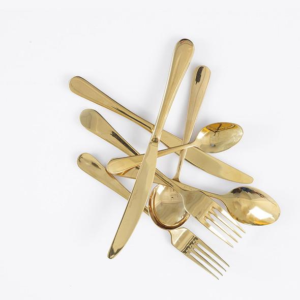 Victoria Gold Espresso Spoon