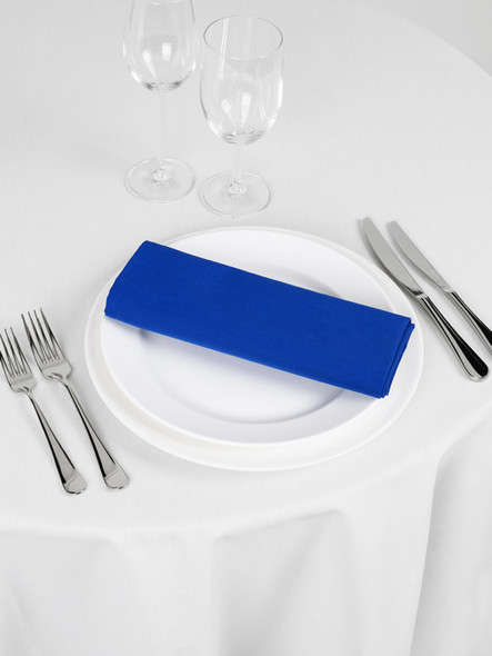 Signature Linen Napkin Royal Blue 20in x 20in