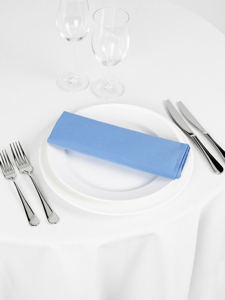 Signature Linen Napkin Wedgwood Blue 20in x 20in