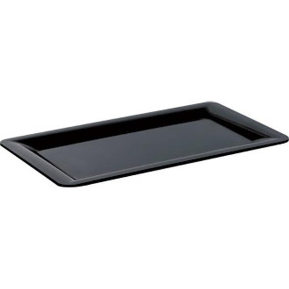 Black Rectangular Plate 14in x 6in