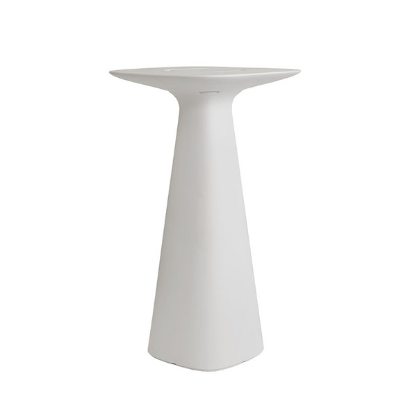 Jet Pod Table - Milky White