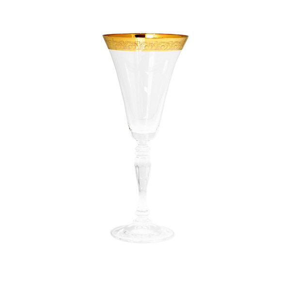 Victoria Gold Rim Red Wine Glass 10oz (16 pack)