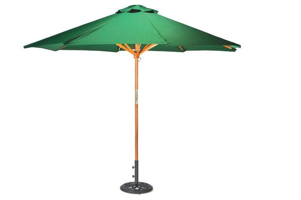 Wooden Parasol Green