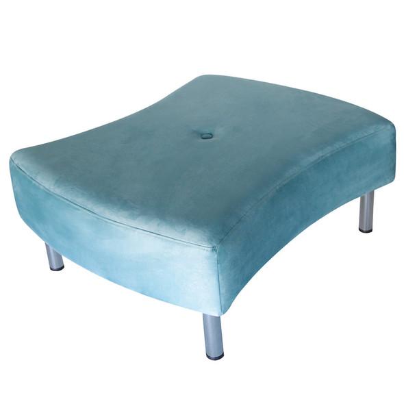 Mobius Ottoman Blue
