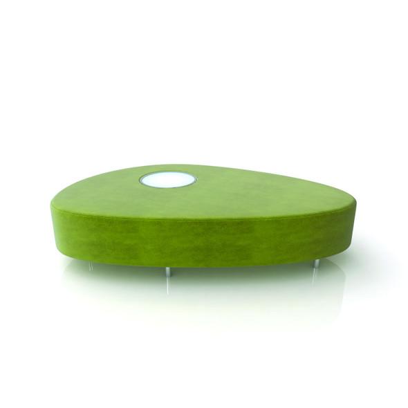Avocado Ottoman Lime Green
