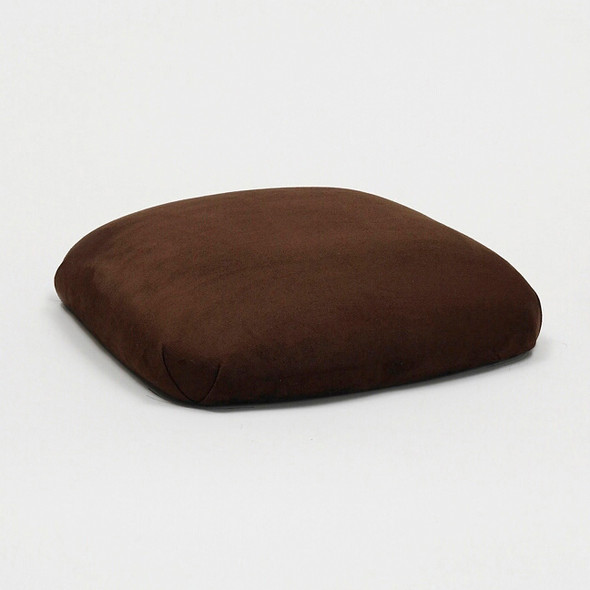 Chameleon Cocoa Brown Suede Chair Pad