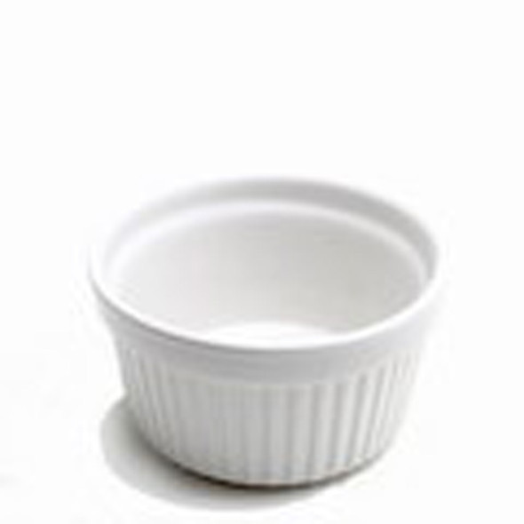 White Ramekin Dish 3in x 1.5in