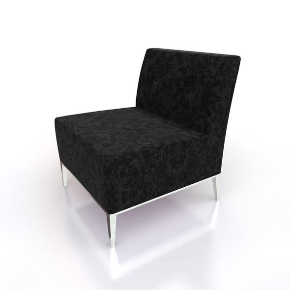 Essex Lounge Chair Black