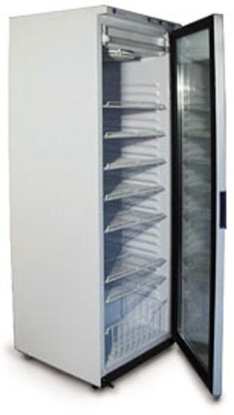 Upright Freezer with White Door