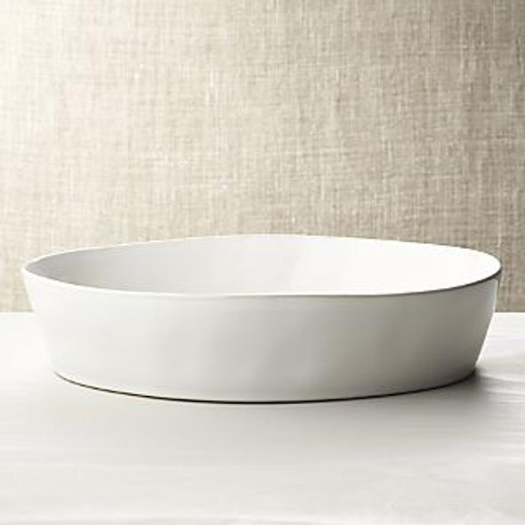 Round White Gratin\ Veg Dish
