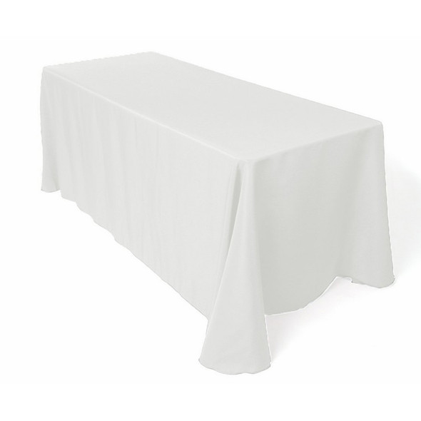 Linen Tablecloth For Sale - White 70in x 108in