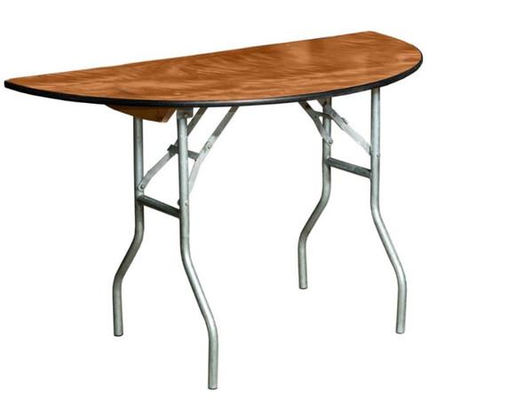 Table Half Round 5ft (Folding)