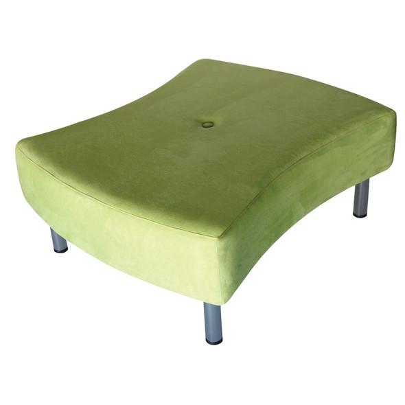 Mobius Ottoman Lime Green