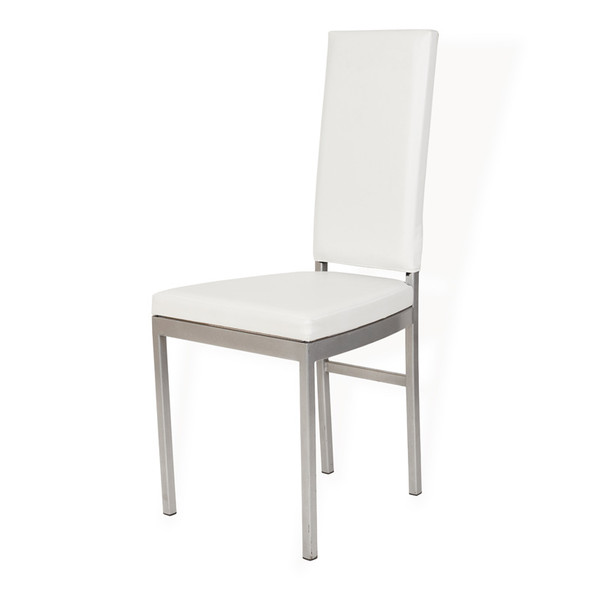 Highback Dining Chair White