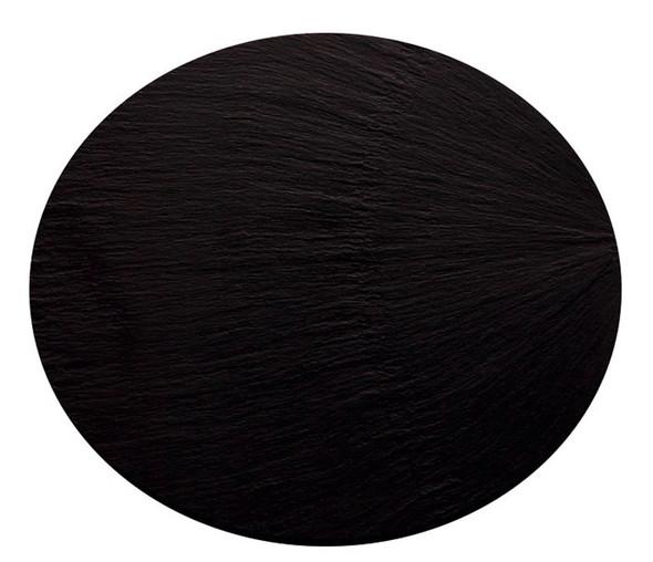 Black Round Slate Platter