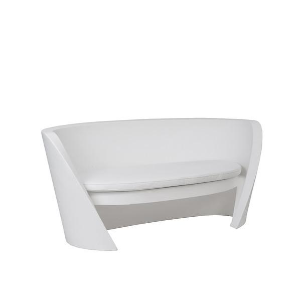 Karma 2 Seater Sofa - White