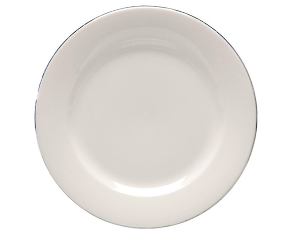 Silver Rim Starter Plate/Dessert Plate 8in