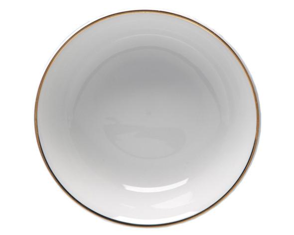 """Gold Rim Pasta Bowl 12"""""""