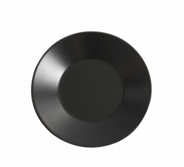 Black Round Plate 11in