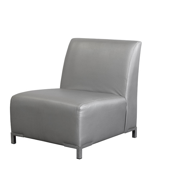 Club Armchair Silver