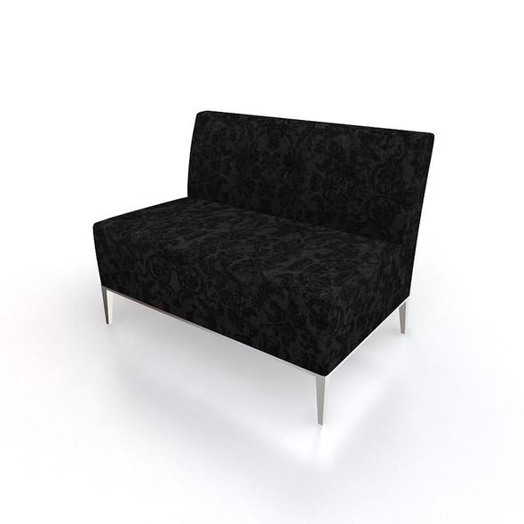 Essex 2 Seater Sofa - Black