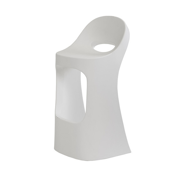 Jet Stool - Milky White