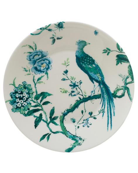 Wedgwood Jasper Conran Peacock White Starter Plate 9in