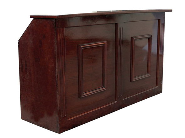 Mahogany Wooden Bar Unit