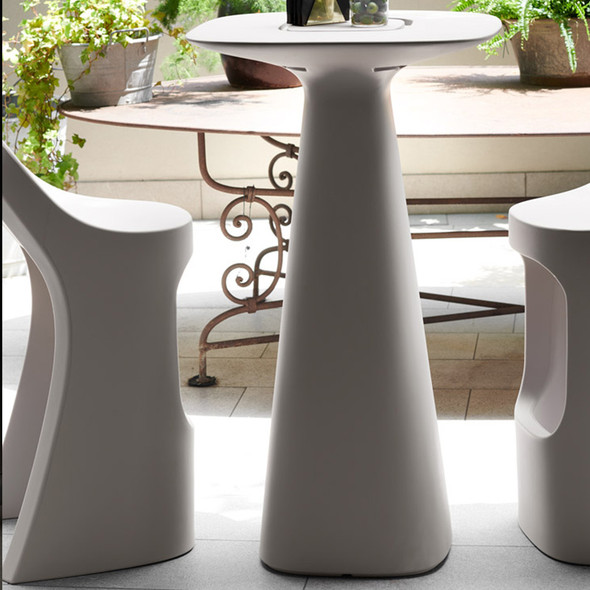Jet Pod Table - Dove grey
