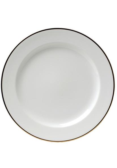 "Gold Rim Starter Plate/Dessert Plate 9"""
