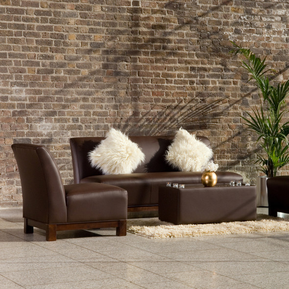 Club Armchair Cocoa Brown