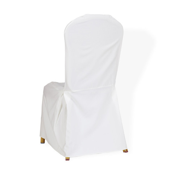 Linen Chair Cover Ivory