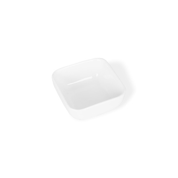 White Mini Dish 3in