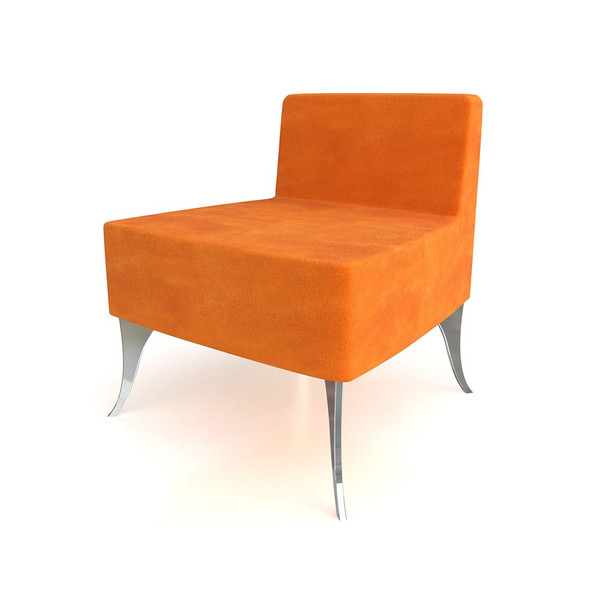 Japan Lounge Chair Orange